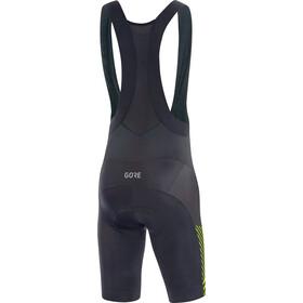 GORE WEAR C3 Bib Shorts Herren black/citrus green